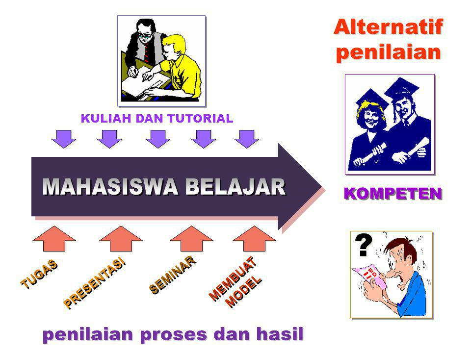penilaian proses dan hasil