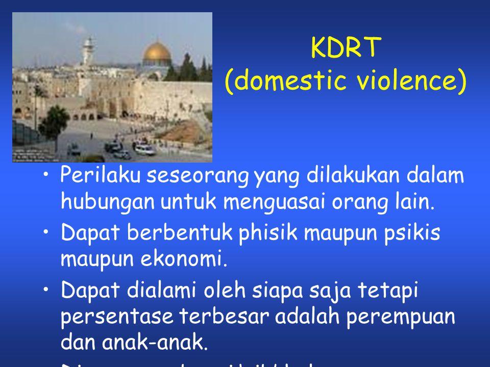 KDRT (domestic violence)