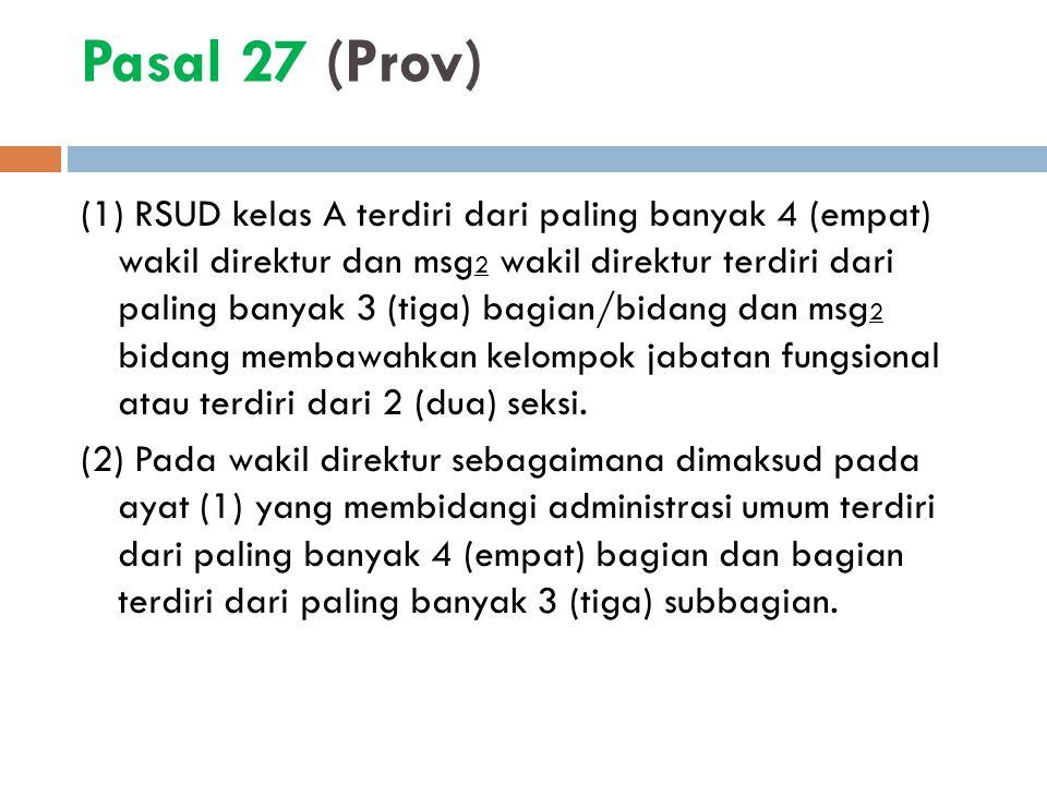 Pasal 27 (Prov)