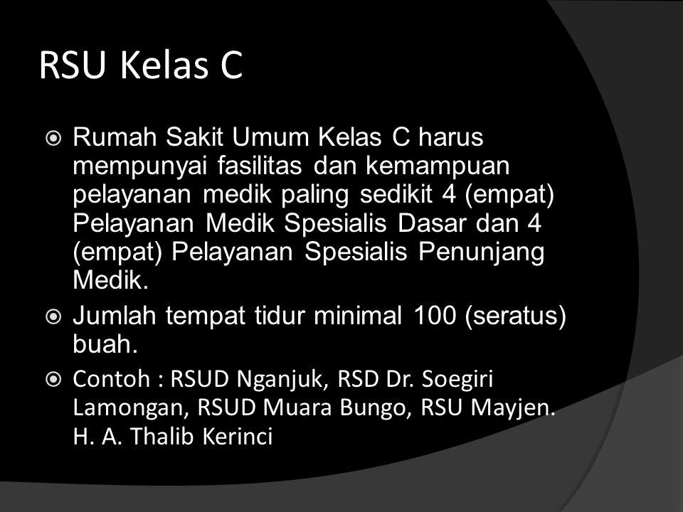 RSU Kelas C
