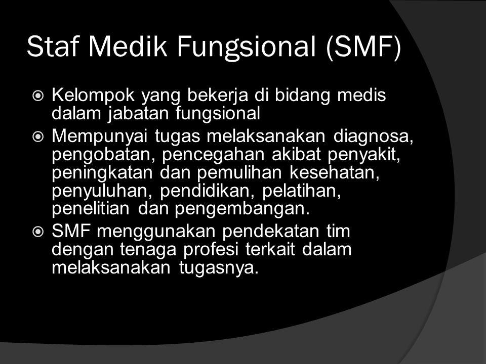 Staf Medik Fungsional (SMF)