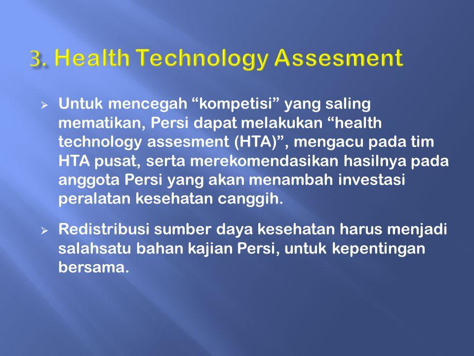 3. Health Technology Assesment