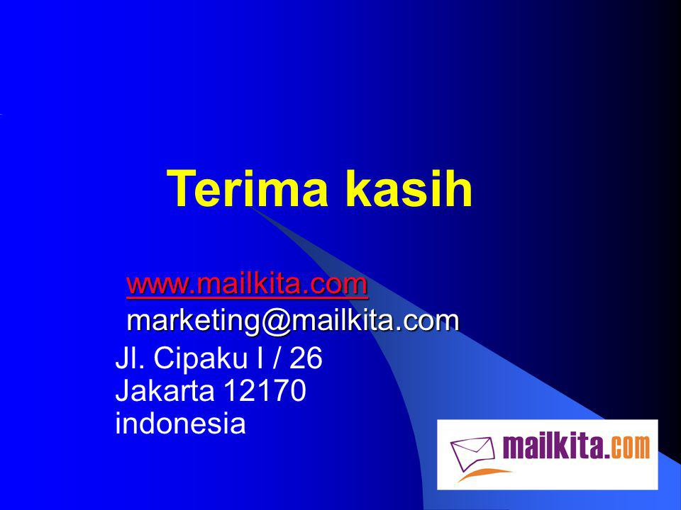 www.mailkita.com marketing@mailkita.com