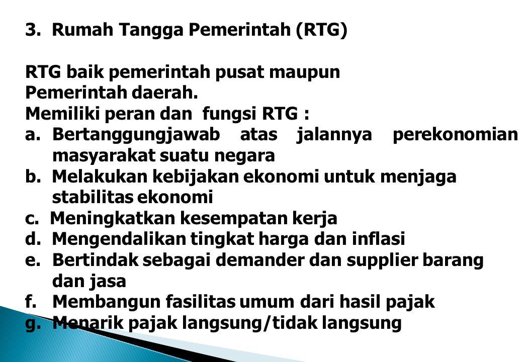 3. Rumah Tangga Pemerintah (RTG)