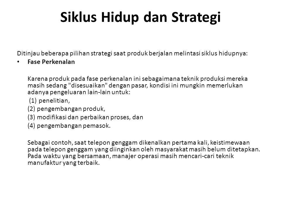 Siklus Hidup dan Strategi