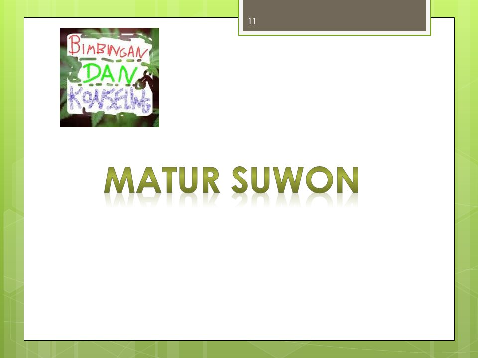MATUR SUWON