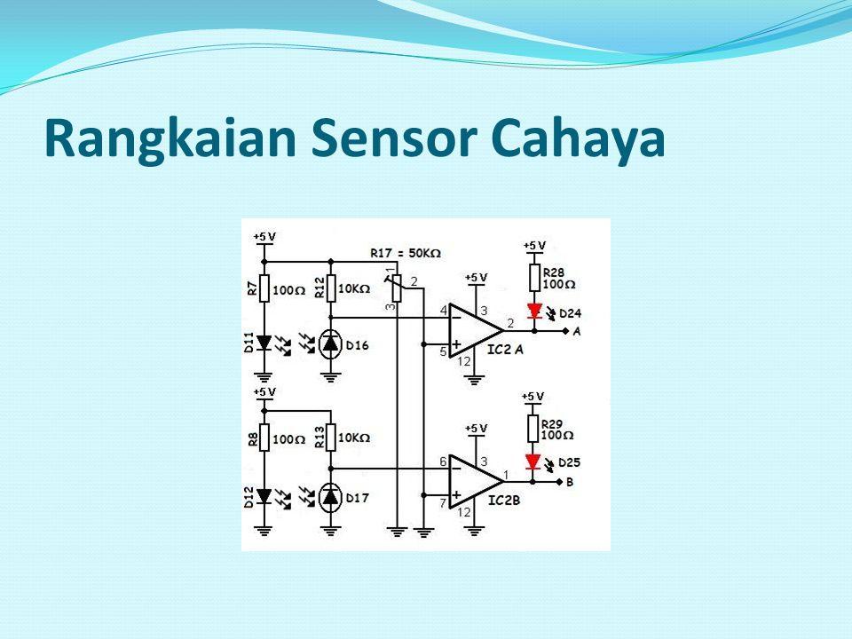 Rangkaian Sensor Cahaya