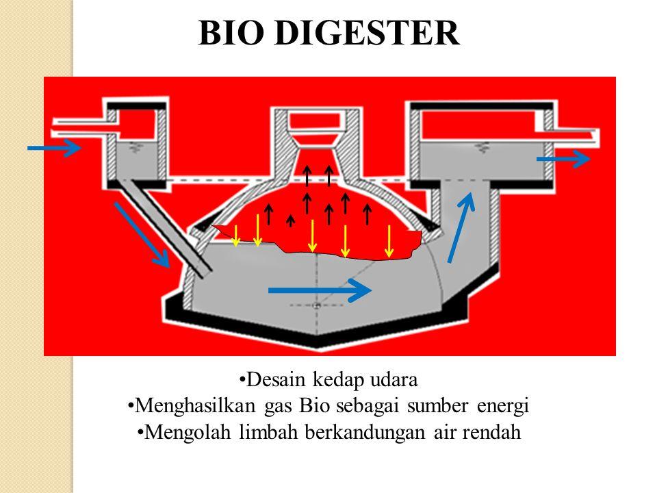 BIO DIGESTER Desain kedap udara