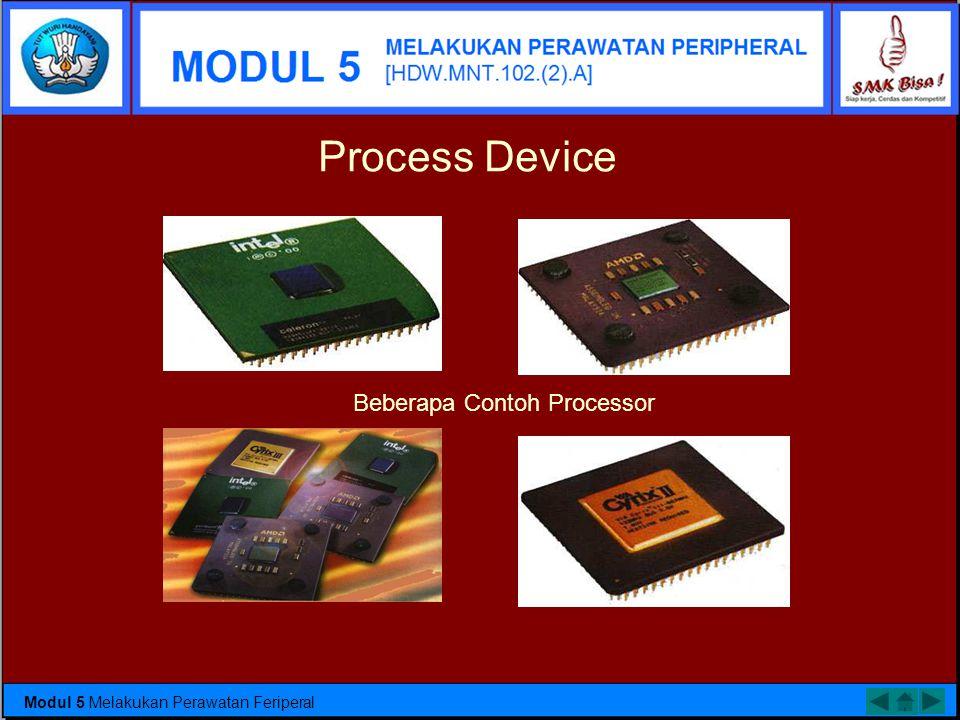 Beberapa Contoh Processor