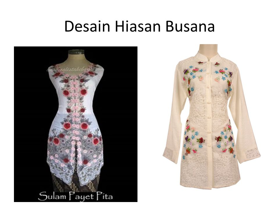Desain Hiasan Busana