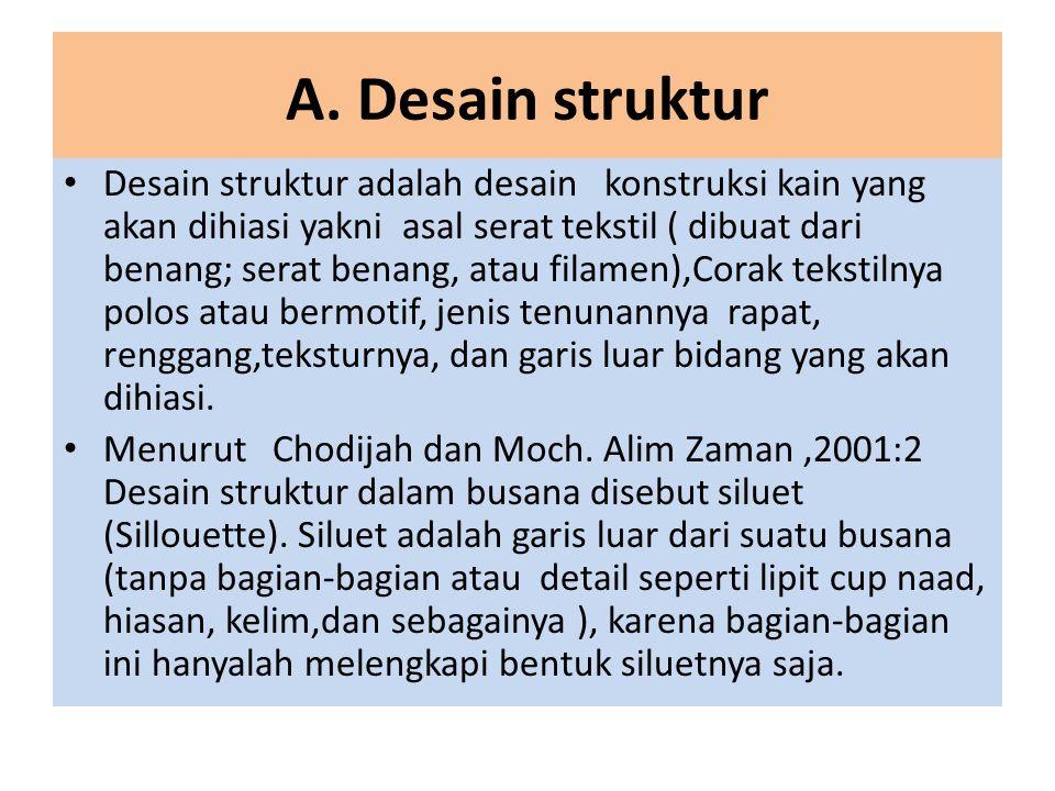 A. Desain struktur