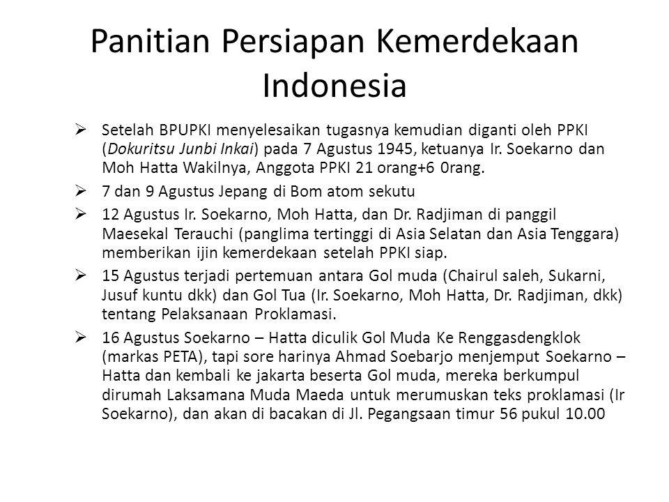 Panitian Persiapan Kemerdekaan Indonesia