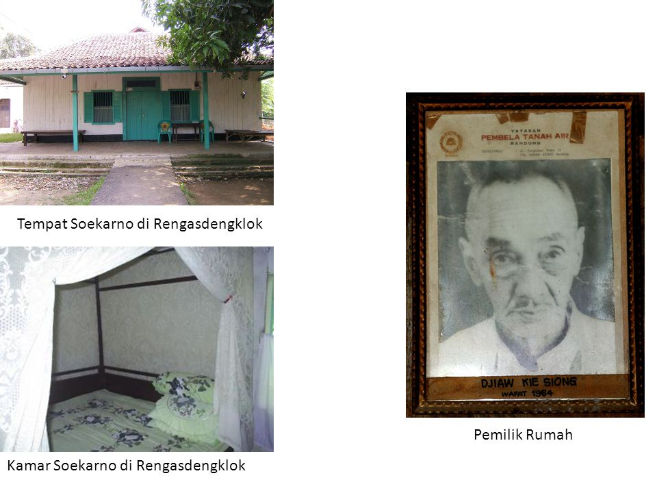 Tempat Soekarno di Rengasdengklok