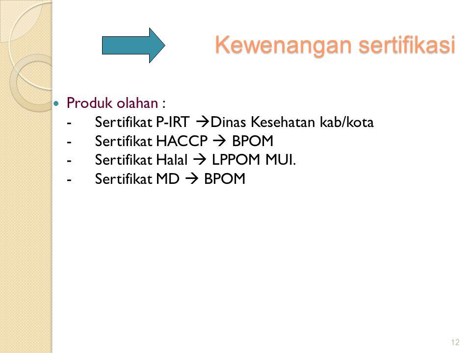 Kewenangan sertifikasi