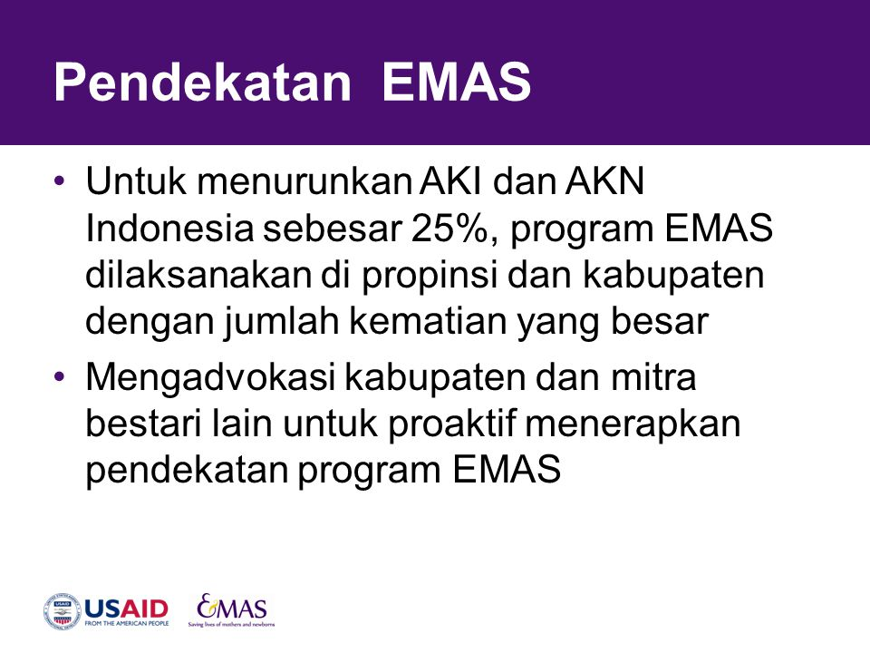 Pendekatan EMAS