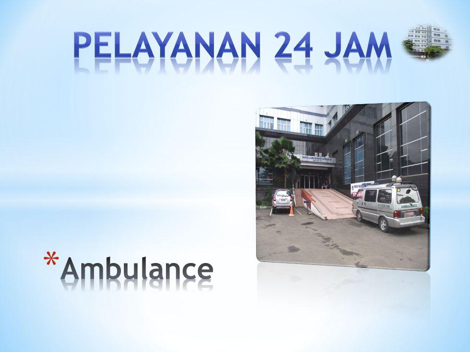 PELAYANAN 24 JAM Ambulance