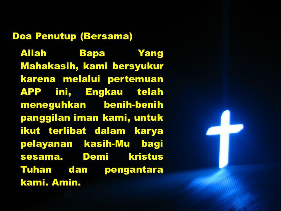 Doa Penutup (Bersama)