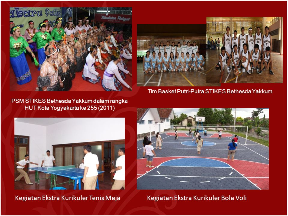 Tim Basket Putri-Putra STIKES Bethesda Yakkum