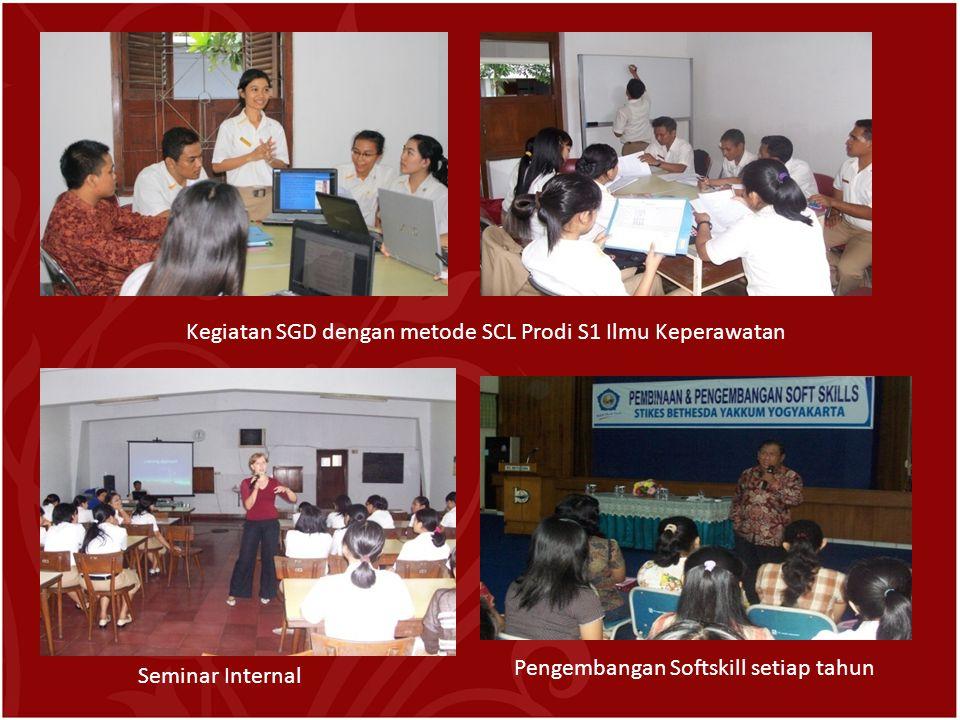 Kegiatan SGD dengan metode SCL Prodi S1 Ilmu Keperawatan