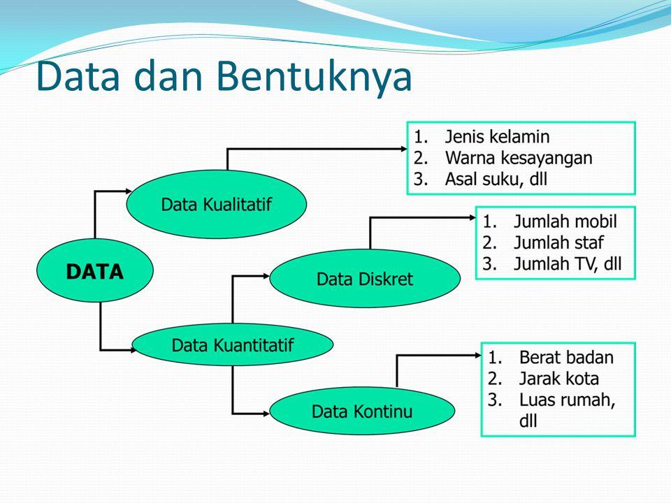 Data dan Bentuknya