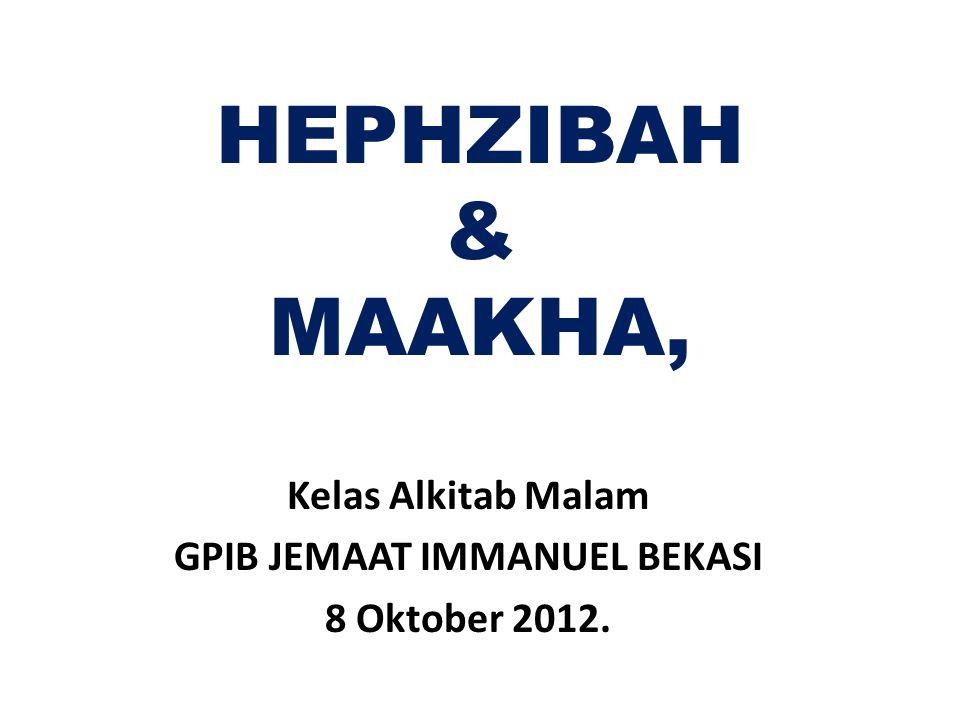 Kelas Alkitab Malam GPIB JEMAAT IMMANUEL BEKASI 8 Oktober 2012.