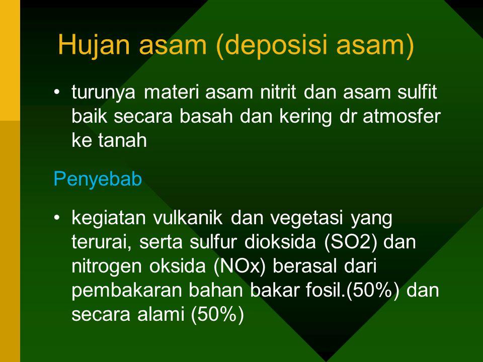 Hujan asam (deposisi asam)
