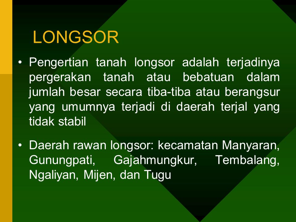 LONGSOR