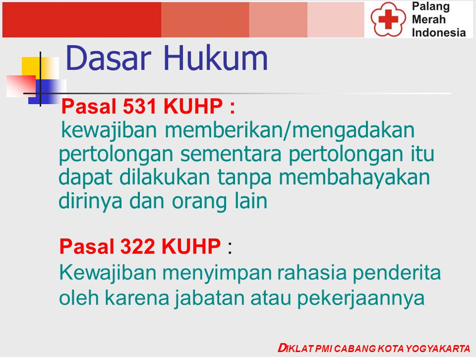 Dasar Hukum Pasal 531 KUHP :