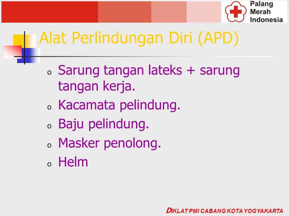 Alat Perlindungan Diri (APD)