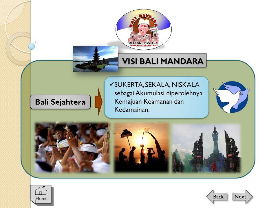 VISI BALI MANDARA Bali Sejahtera