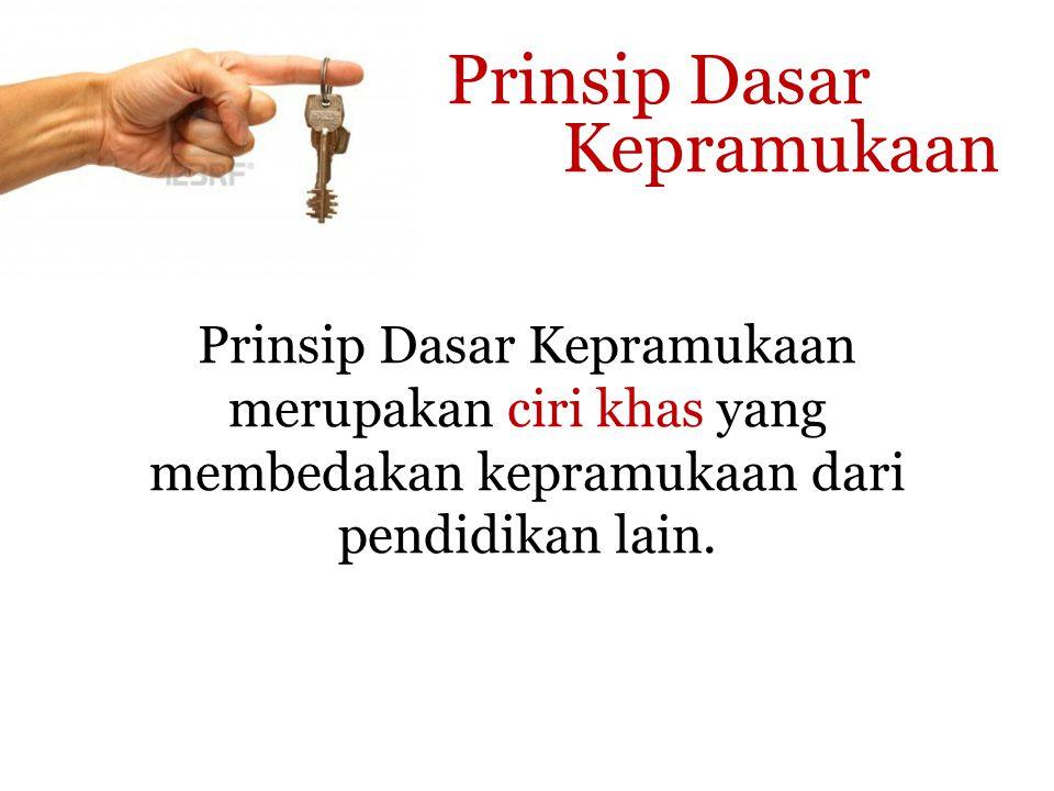 Prinsip Dasar Kepramukaan