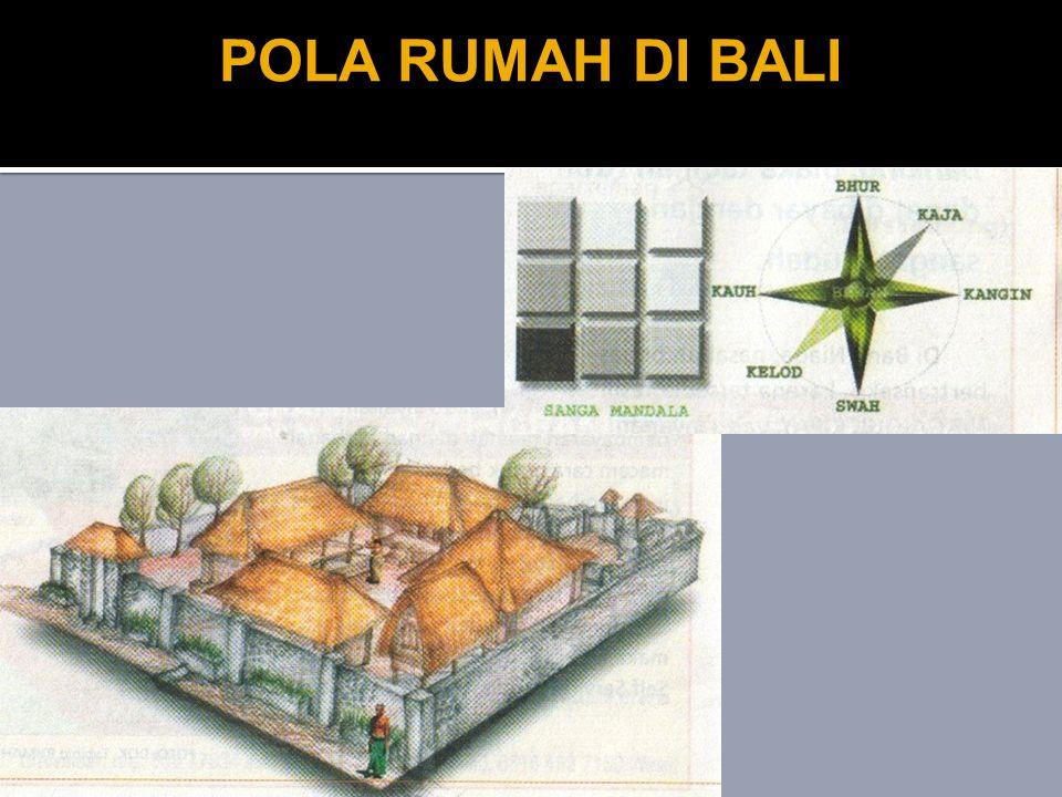 POLA RUMAH DI BALI