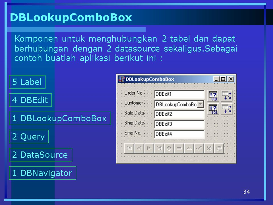 DBLookupComboBox