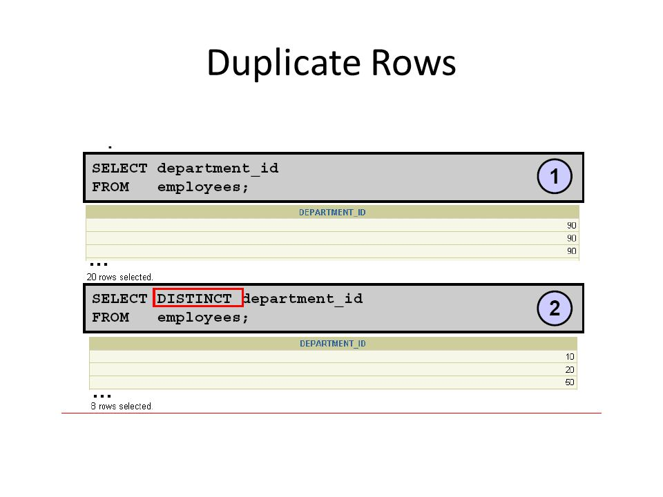 Duplicate Rows