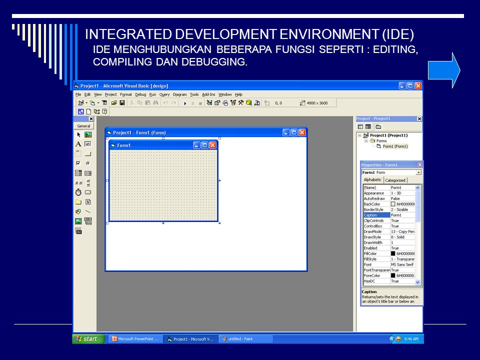 INTEGRATED DEVELOPMENT ENVIRONMENT (IDE)
