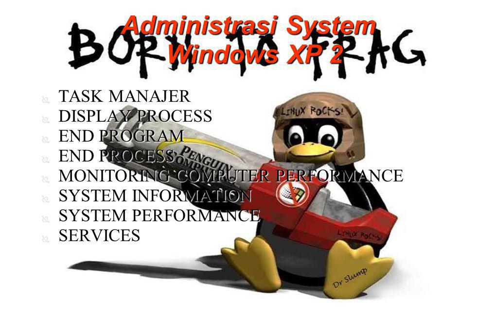 Administrasi System Windows XP 2