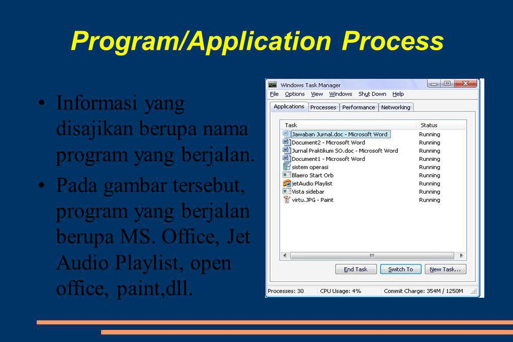 Program/Application Process