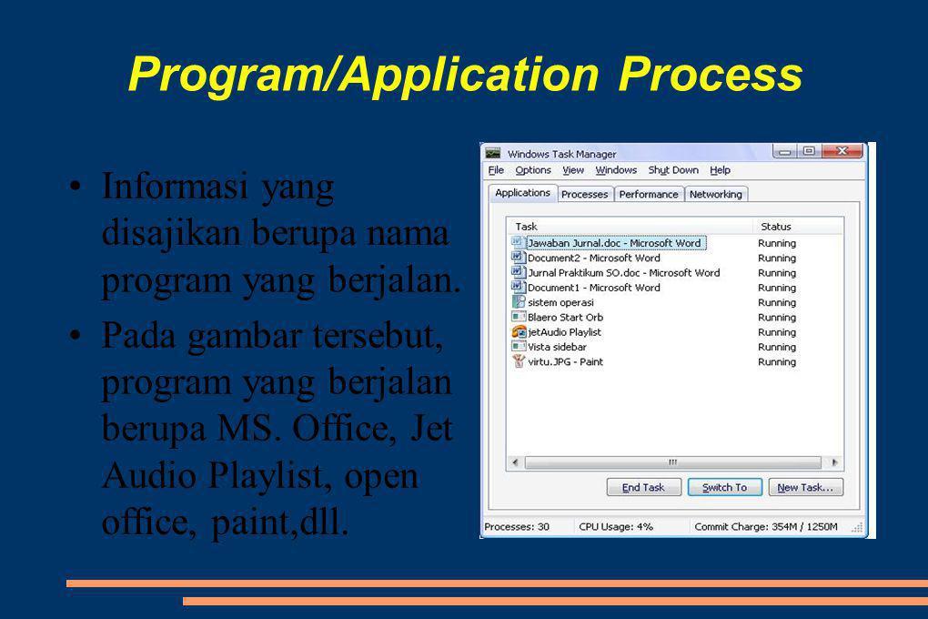 Program/Application Process