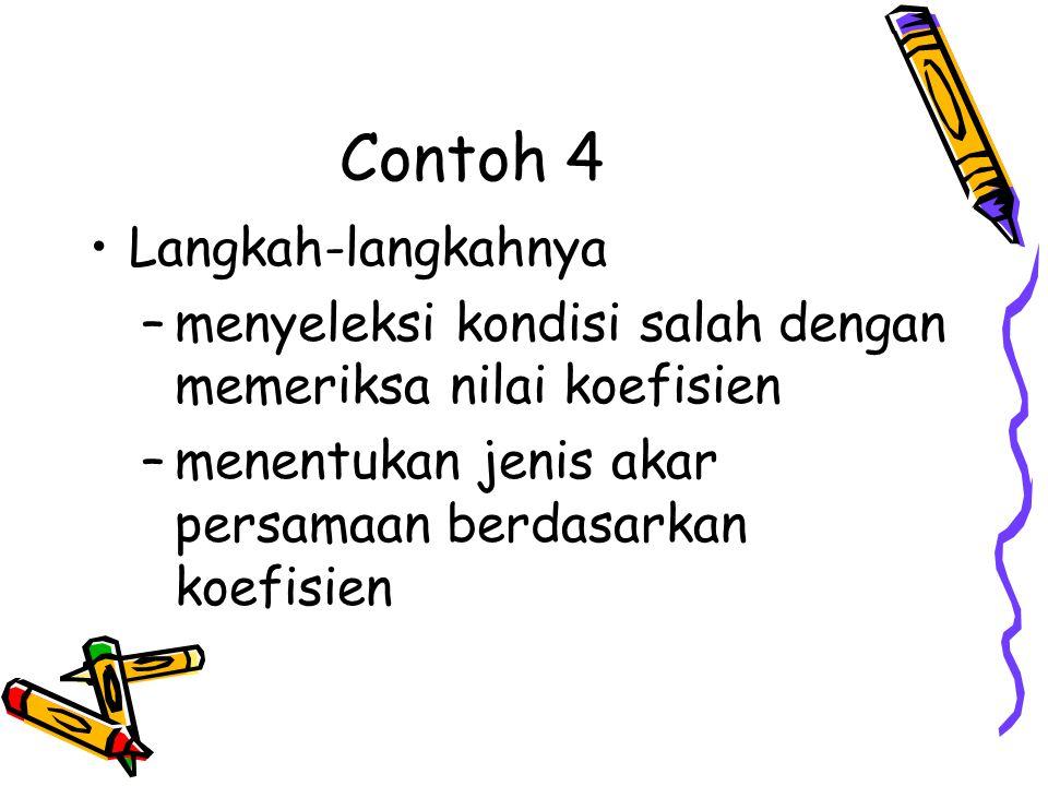 Contoh 4 Langkah-langkahnya