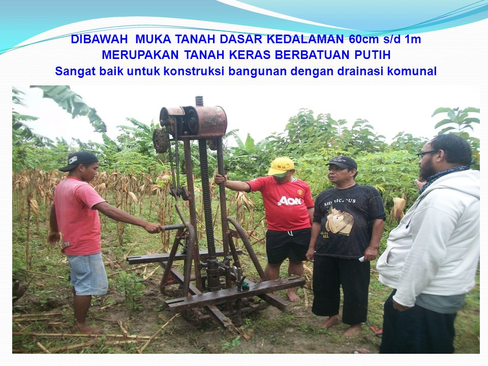 Sangat baik untuk konstruksi bangunan dengan drainasi komunal