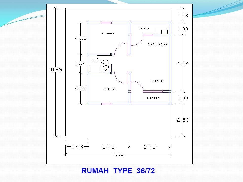 RUMAH TYPE 36/72
