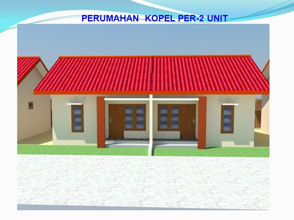 PERUMAHAN KOPEL PER-2 UNIT