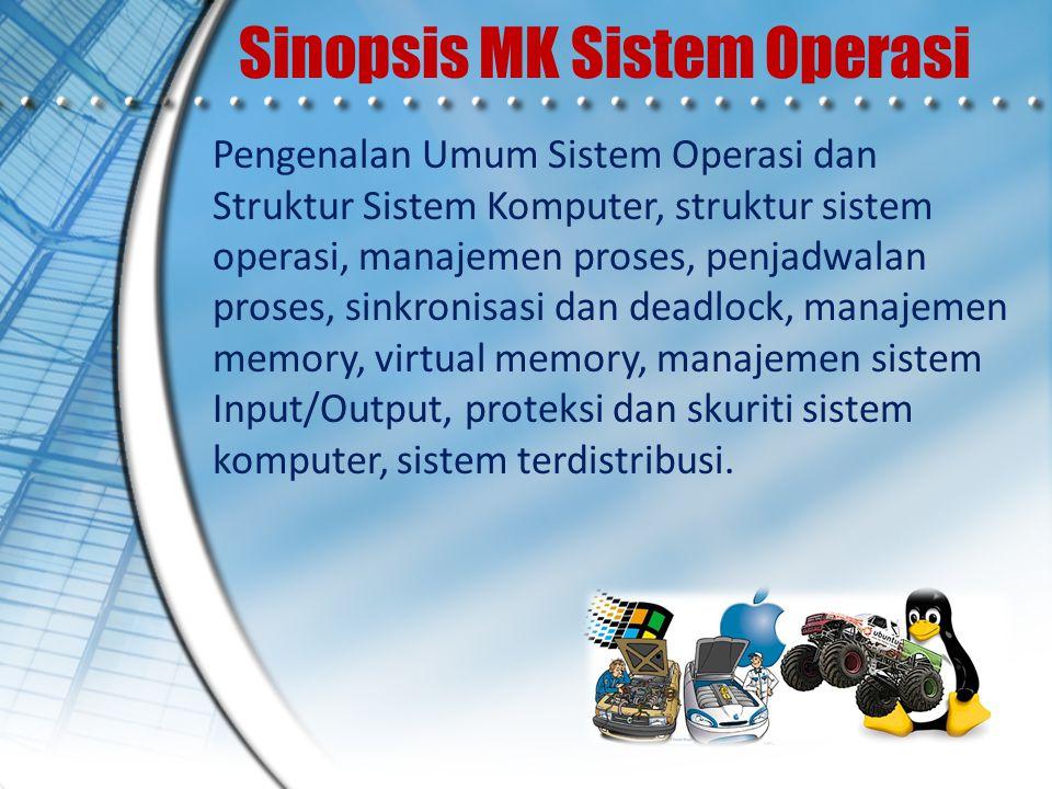 Sinopsis MK Sistem Operasi
