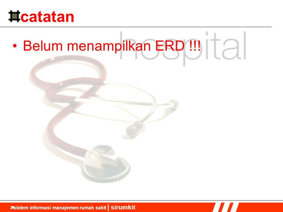 catatan Belum menampilkan ERD !!!