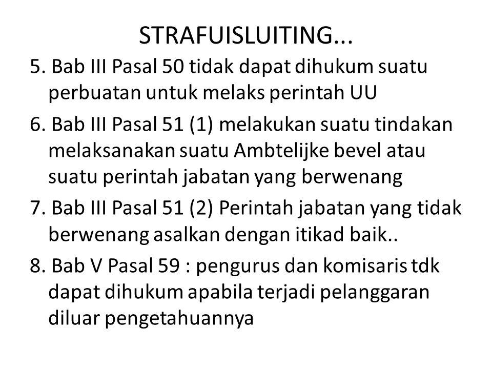 STRAFUISLUITING...
