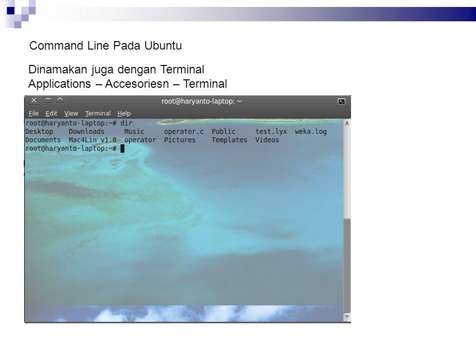 Command Line Pada Ubuntu