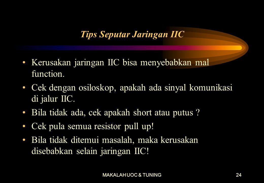 Tips Seputar Jaringan IIC