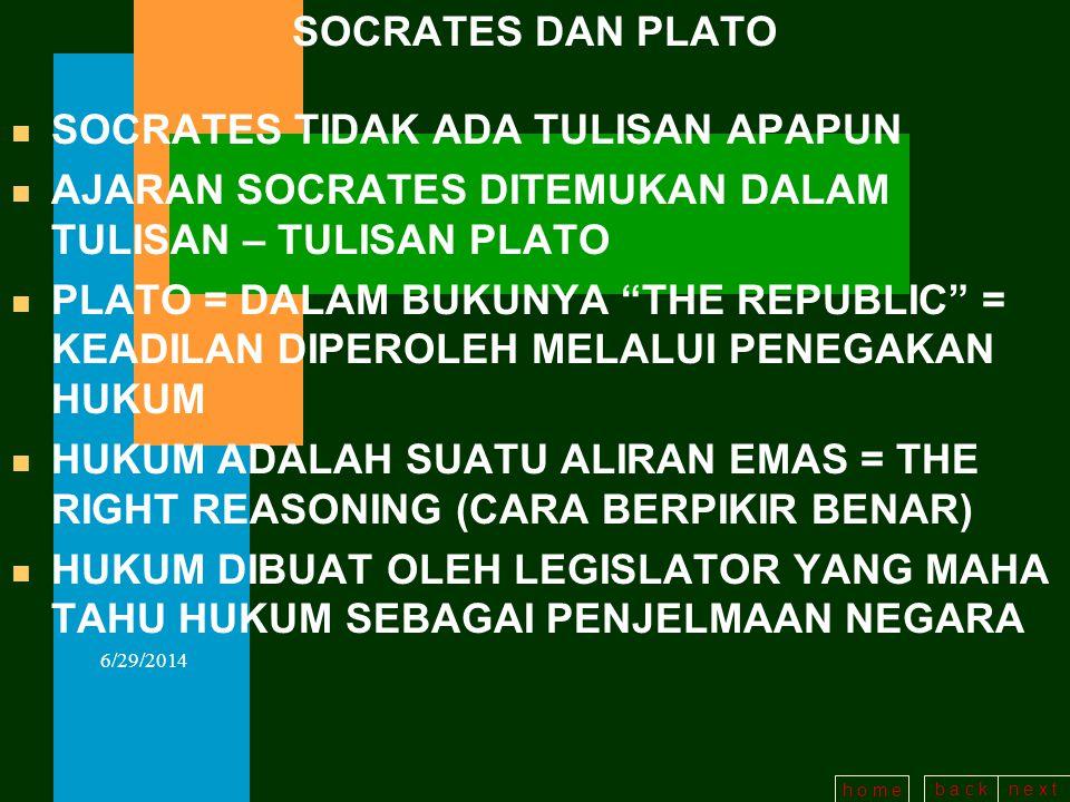 SOCRATES TIDAK ADA TULISAN APAPUN
