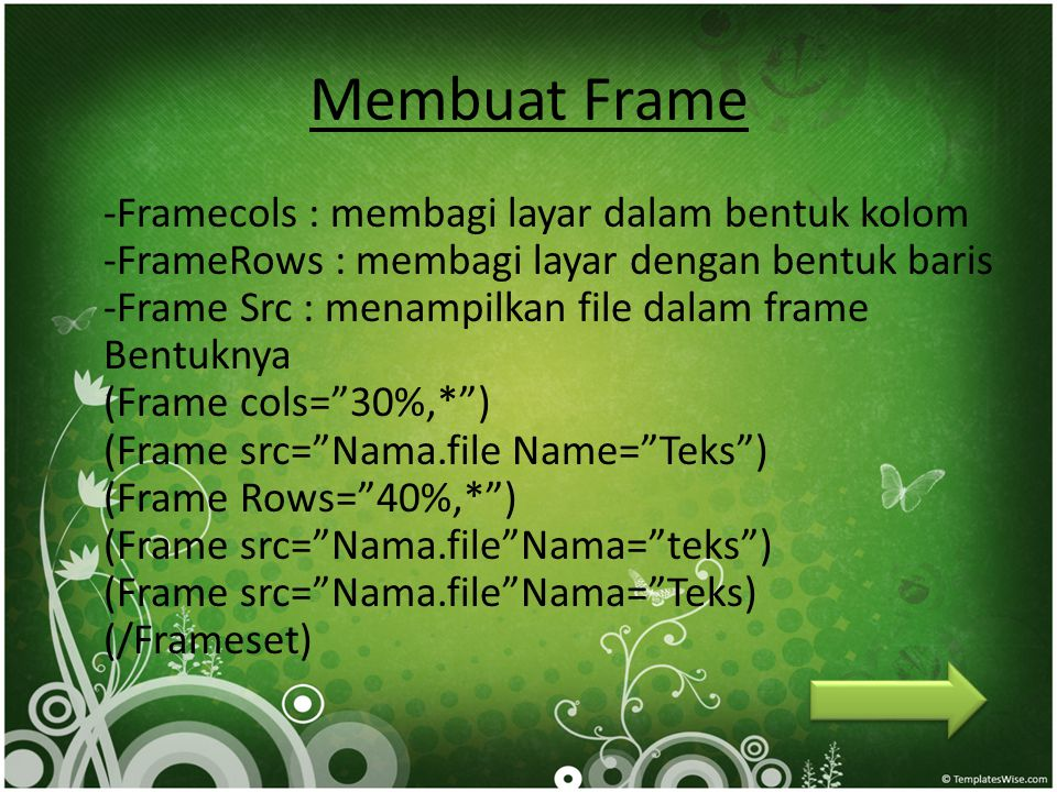 Membuat Frame