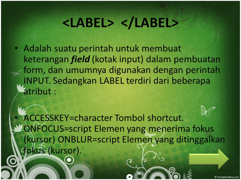 <LABEL> </LABEL>